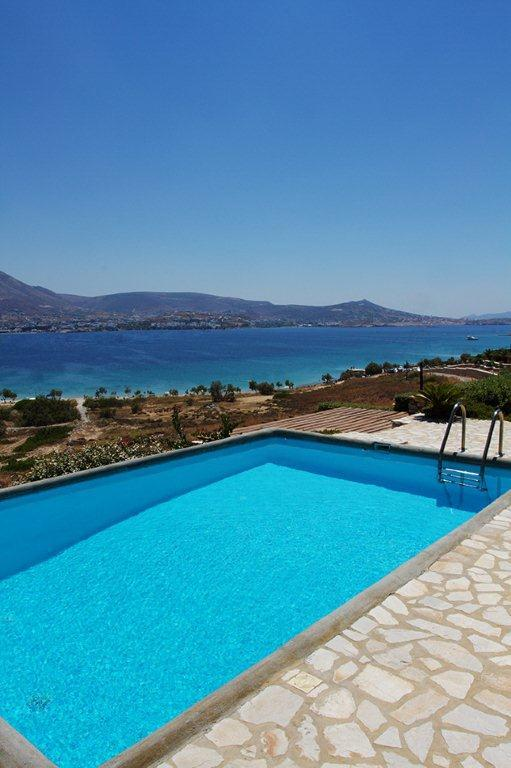 Paros  -Gv - Property  ID 53946 - villa with pool & wonderful seaview accomodates 8 persons - Image 1 - Paros - rentals