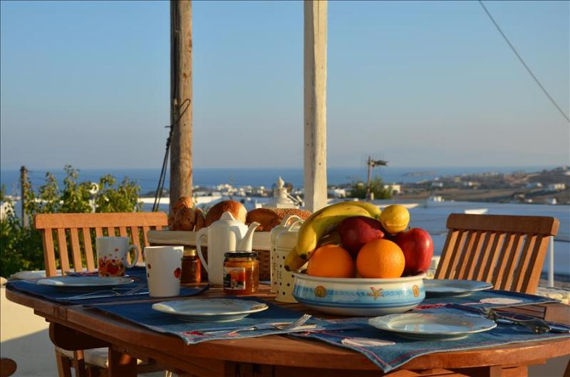 Paros - Gv - Marpissa village house with big verandah sleeps 6+ - Image 1 - Paros - rentals