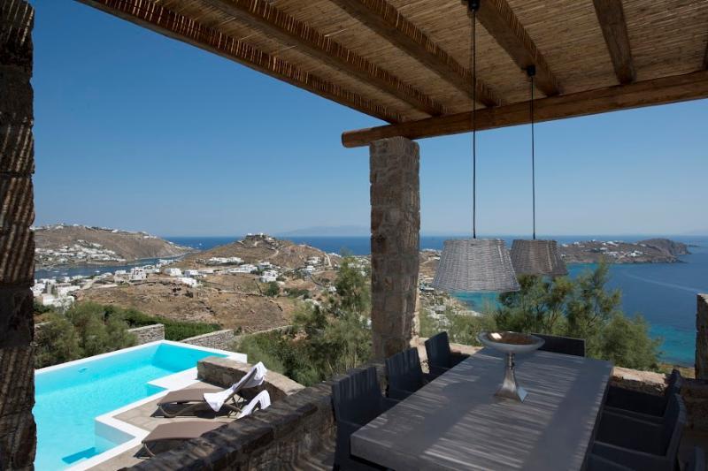 Mykonos - Gv - Villa Esmeralda I - a stunning seaview private Pool in Agios Ioannis - Image 1 - Mykonos - rentals