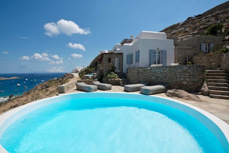 Mykonos- Gv - Villa Anemone with pool and4 bedrooms - Image 1 - Mykonos - rentals