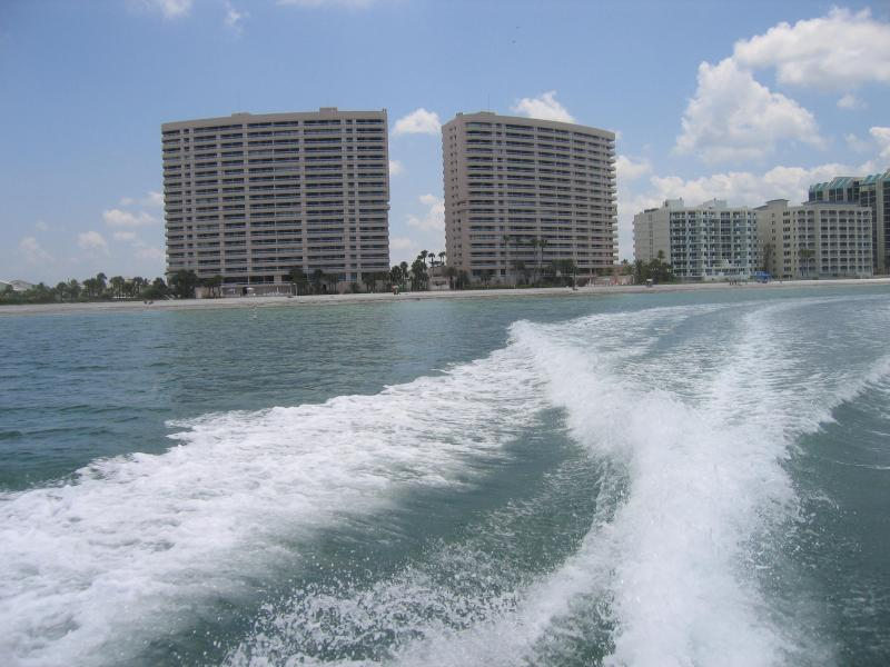 Crescent Beach Club from the Gulf of Mexico - Breathtaking Water Views from Every Room - Clearwater - rentals