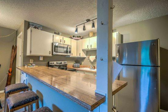 Fully Equipped Kitchen With Stainless Steel Appliances  - Storm Meadows E46 - Steamboat Springs - rentals