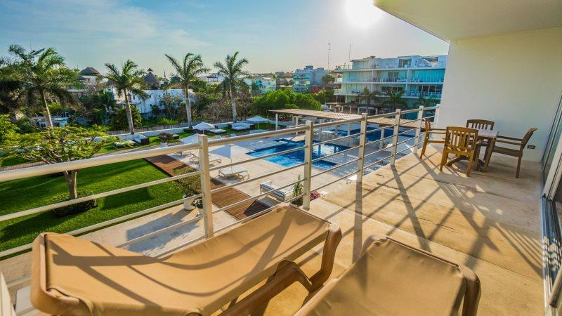 Ocean View 2 Bedroom at Magia Playa - Image 1 - Playa del Carmen - rentals