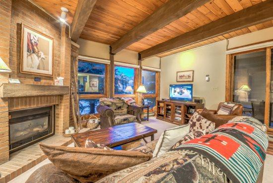 Main Living Area - Lodge A208 - Steamboat Springs - rentals