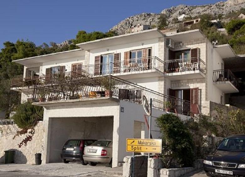 house - 02513BREL  A2(4+2) - Brela - Brela - rentals