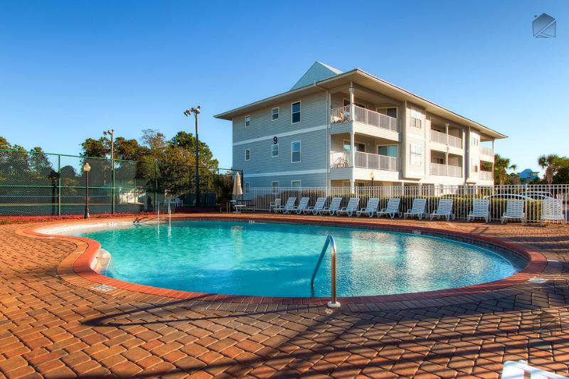 One of two community pools on the property that you have access to. - Condo with a peek of gulf views, perfect for families, two community pools and tennis courts - Sea Star - Santa Rosa Beach - rentals