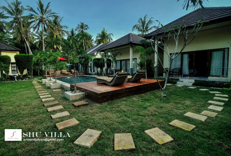 out door pool - kuta lombok accommodation-two bedrooms villa - Kuta - rentals