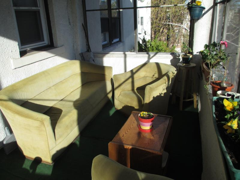 Roofed balcony - 1 bedroom Apartment in Allston/Brookline - Boston - rentals