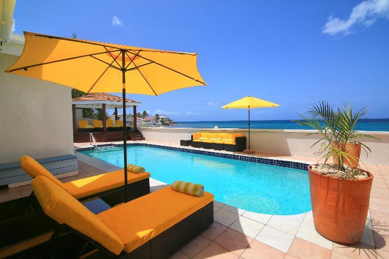 Beautiful beachfront 5 bedroom villa - Image 1 - Saint Martin-Sint Maarten - rentals