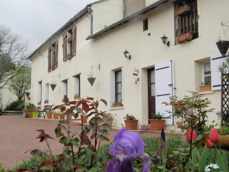 4 STAR Farmhouse sleeps 6 - FARMHOUSE sleeps 6 character & charm FREE WIFI - Les Verchers-sur-Layon - rentals
