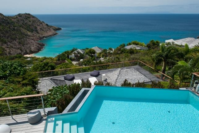 Villa Blue Dragon St Barts Rental Villa Blue Dragon - Image 1 - Gouverneur - rentals