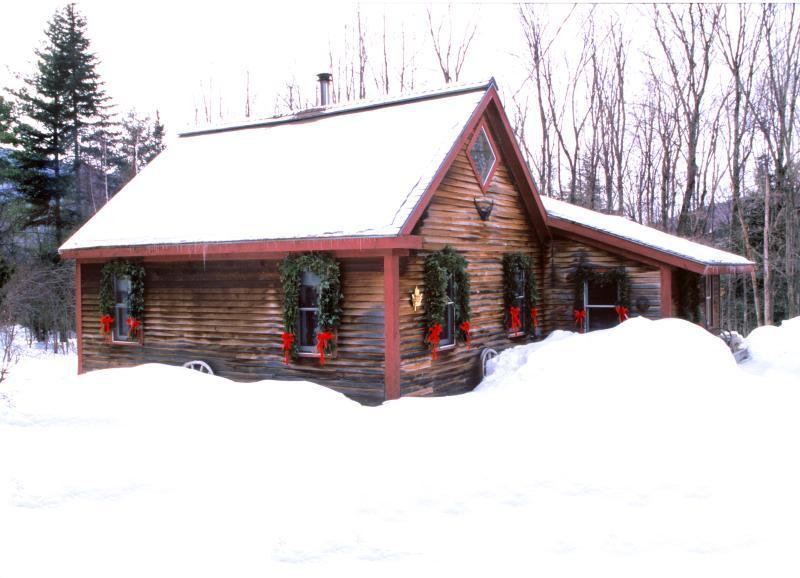 Romantic Vermont Cabin Rental - Romantic Cabin:1 Bdrm    Loft - Stowe - rentals