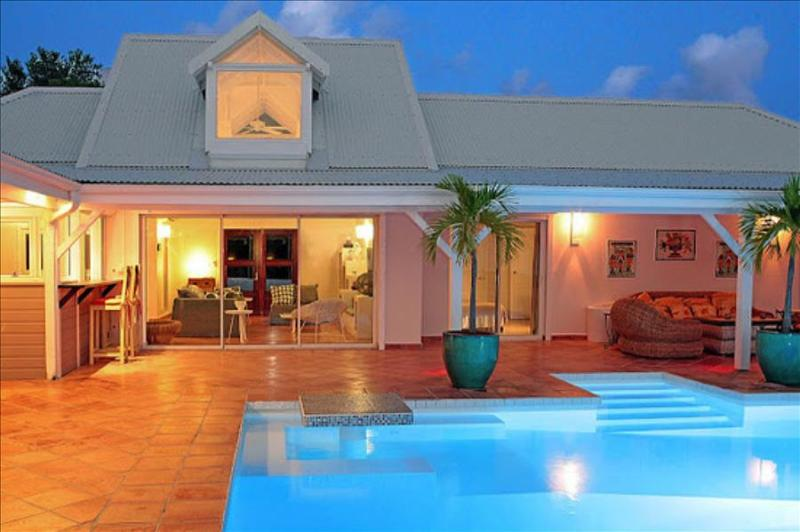 Beautiful Villa with view over the Caribbean Sea - Image 1 - Sint Maarten - rentals