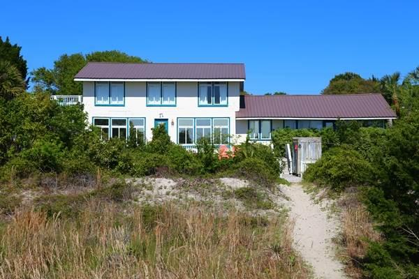 "3308 Palmetto Blvd. - ""Blockhouse"" - Image 1 - Edisto Beach - rentals"