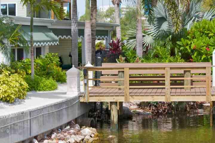Your Private Waterfront Dock - Great for Fishing! - Boca Ciega Cottage - Madeira Beach - rentals