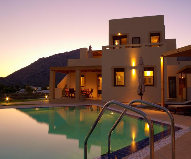 Kokkini Paparouna Villa Night View - Lindos Villa 4 bedrooms with private pool - Lindos - rentals