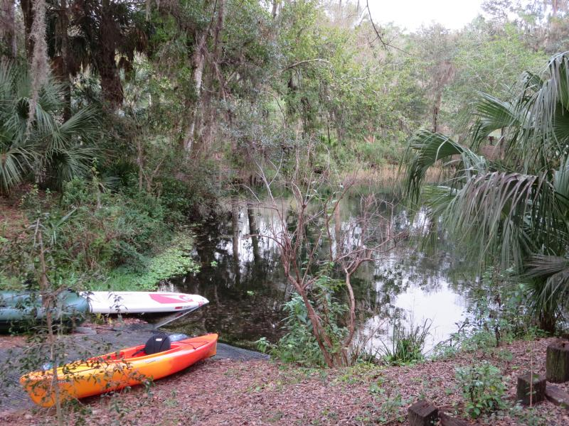 Private Resident's Beach kayak launching area. - RAINBOW RIVER ACCESS - Beautiful 3/2 Pool Home - Dunnellon - rentals