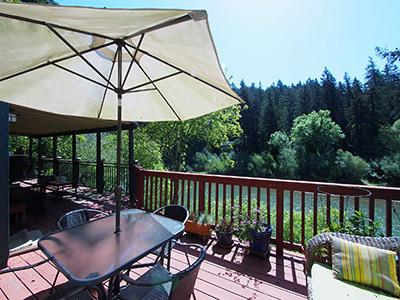 River Dream, Deck Envy - River Dream - Guerneville - rentals