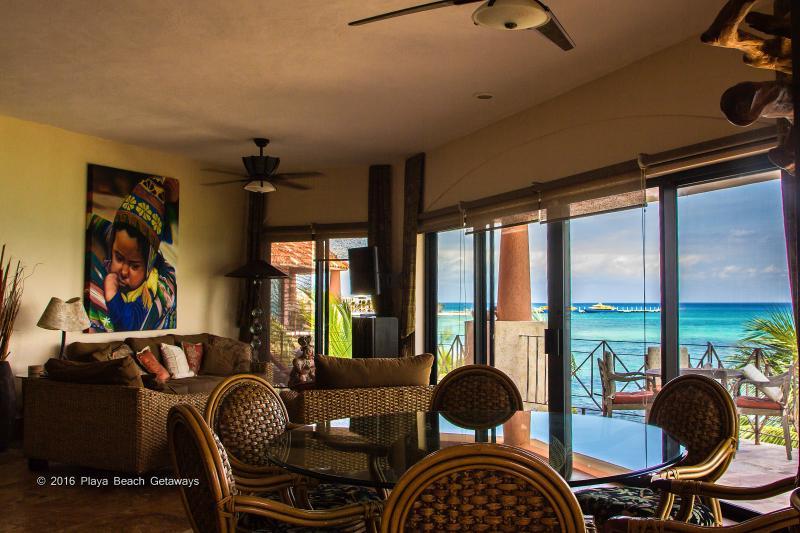 One of the best views in Playa - Luna Encantada D-3 Oceanfront - Playa del Carmen - rentals