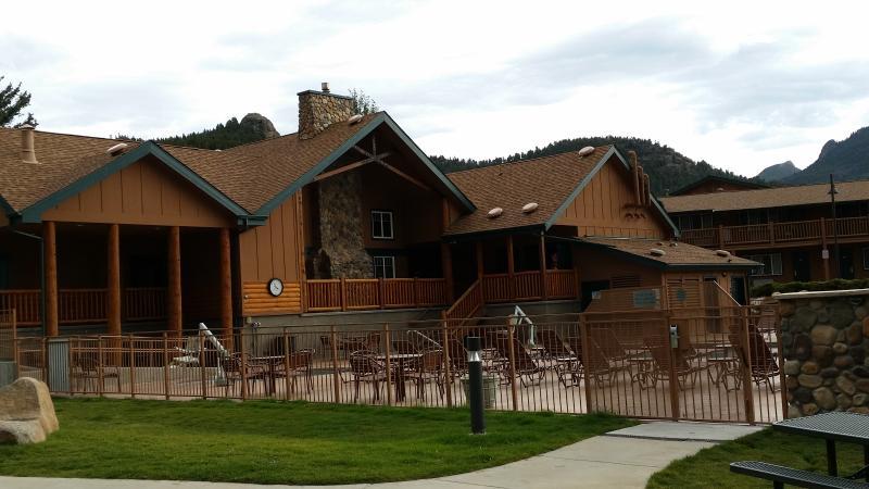 Main Building, Check-in, Guest Services, Game Room, Pool Area - WorldMark Estes Park, Colorado - Estes Park - rentals