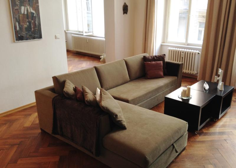 Spacious 2BR/2Bath-heart of Prague - Image 1 - Prague - rentals