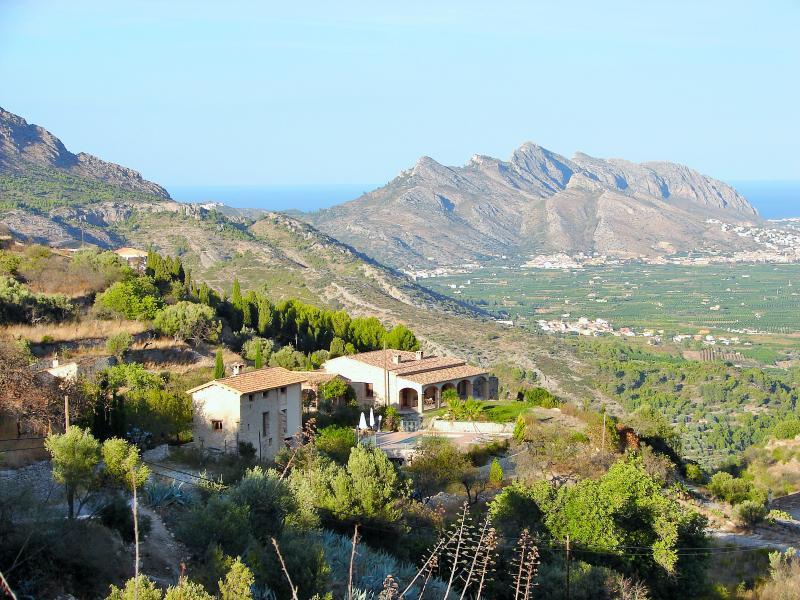 La Estufa house, Segaria Mountains and Mediterranean Sea - Casa Rural La Estufa - La Vall de Laguar - rentals