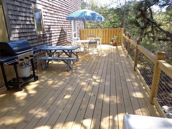 Enjoy summer BBQ's on this New Deck - Image 1 - Wellfleet - rentals