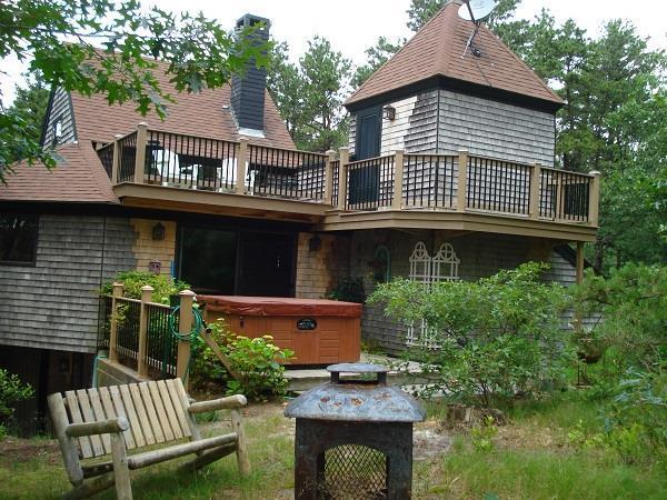 Multi-Level, Contemporary Wellfleet Home - Image 1 - Wellfleet - rentals