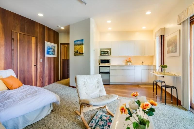 STUDIO AVAILABLE FURNISHED OR UNFURNISHED INCLUDES HILL AND BAY VIEWS - Image 1 - Los Altos Hills - rentals