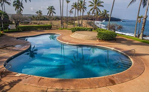 Gorgeous oceanfront pool - Kepuhi Beach Resort 1172 - Maunaloa - rentals