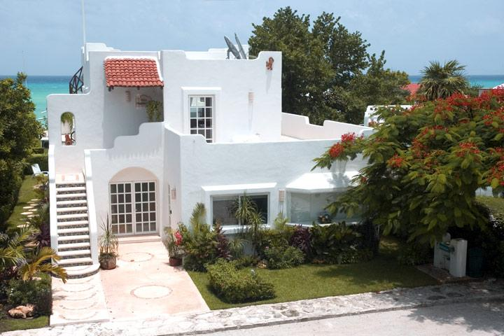 Villa Flamboyan with Caribbean Sea view. - NEWER Villa, Sea View, Private Pool & 4 Bedrooms - Playa del Carmen - rentals