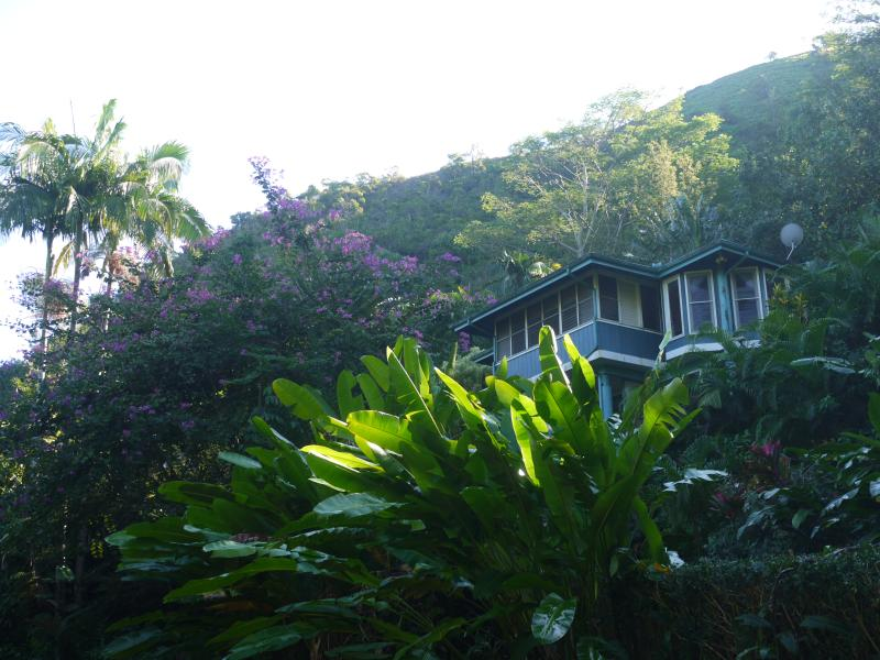 View of home from lower portion of property - Lani Oli Hale - Hanalei - rentals