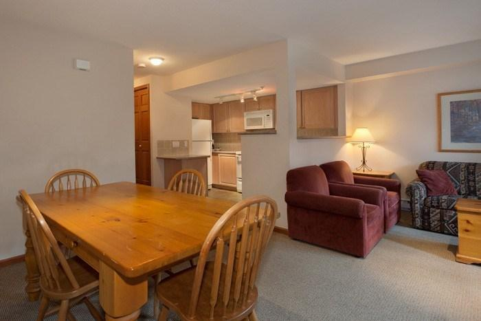 The large dining area is fantastic for gathering friends or family together - Whistler Stoney Creek Lagoons 2 Bedroom Townhome: Ideal Family Getaway - Whistler - rentals