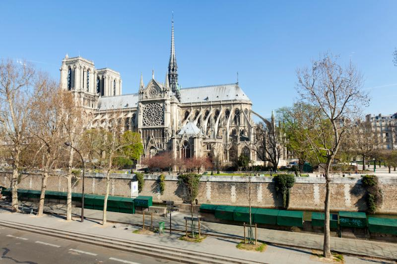 Notre Dame Luxury One Bed with spectacular Views - Image 1 - Paris - rentals