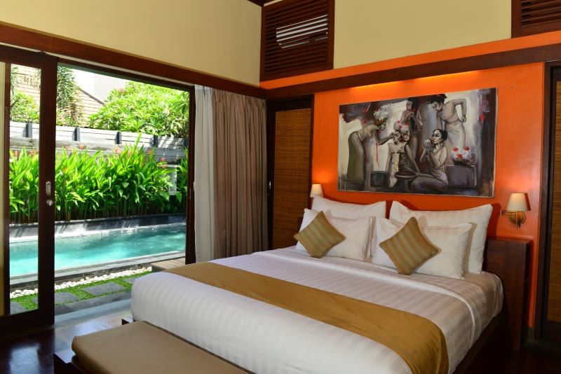 Bedroom Pool Villa - 1 bedroom Pool Villa - 5 - Seminyak - rentals