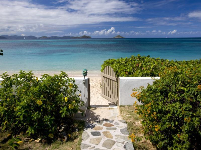 A Villa on the Beach - Image 1 - Mahoe Bay - rentals