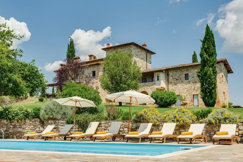 Villa Cipresso - Image 1 - Castelnuovo Berardenga - rentals