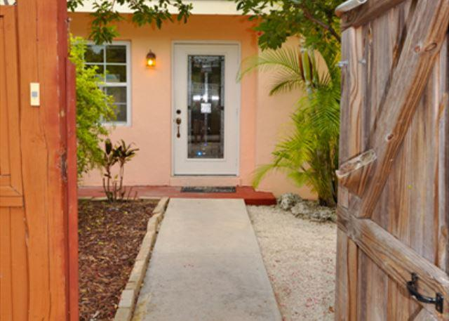 Entry to Property - New Listing! - Mid Town Getaway with pool & jacuzzi - Key West - rentals
