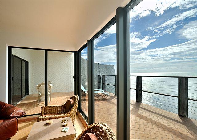 private balcony - Casa Atlantica: A studio condo on the Atlantic shore of Key West - Key West - rentals