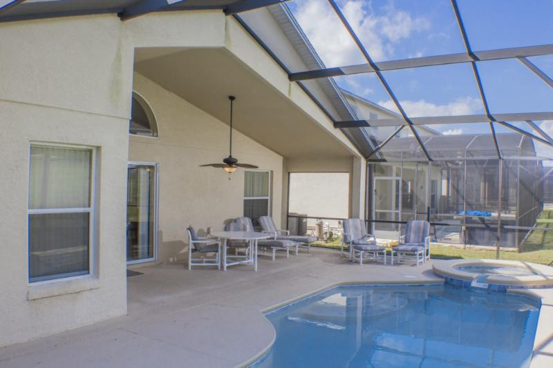 The Glorious Private Pool,Spa and Covered Lanai. - Disneys Neighbour! AWESOME 4Bed Villa,Private Pool - Davenport - rentals