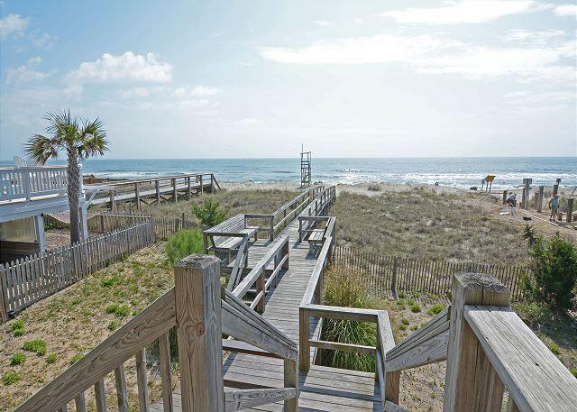 Dolphin View - Wonderful oceanfront home in Kure Beach - Image 1 - Kure Beach - rentals
