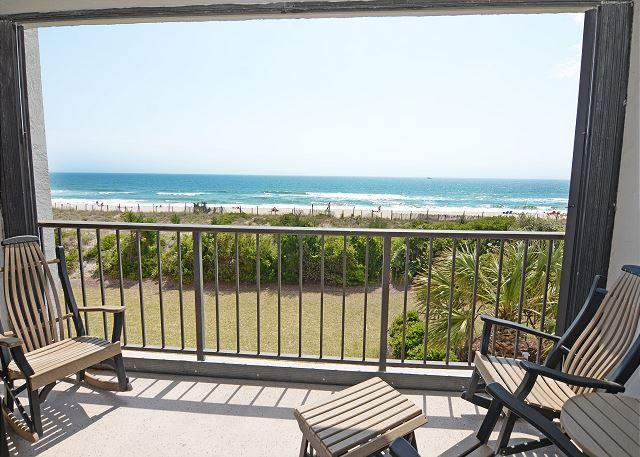 Station One - 2F Serenity-Oceanfront condo with community pool, tennis, beach - Image 1 - Wrightsville Beach - rentals