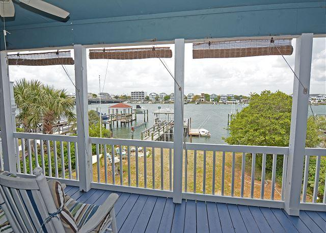 Creasy Cottage - The best sunsets on Wrightsville in this top floor duplex - Image 1 - Wrightsville Beach - rentals