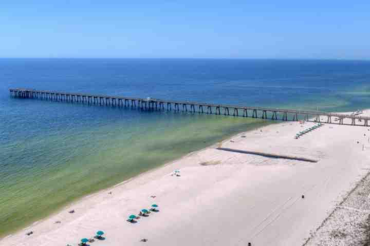Go fishing off the pier! - 1206 Sterling Reef - Panama City Beach - rentals