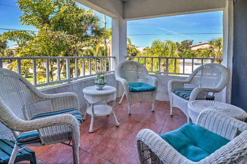 Balcony - Gulf View Townhouses 3 - Holmes Beach - rentals