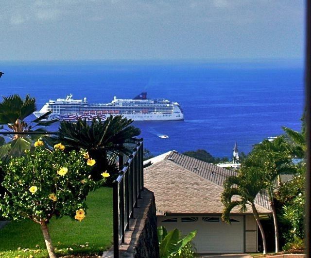Panoramic Ocean View from Lanai - 129.00 OCEAN VIEW,2/2 Bedroom/Bath Gated community - Kailua-Kona - rentals