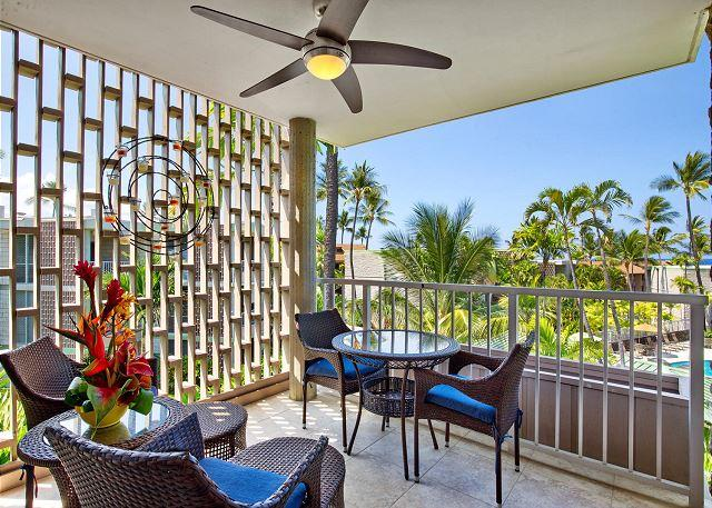 Lanai - Alii Villas 308 Ocean Front Complex - ask us for 15% discount  Apr-Sept! - Kailua-Kona - rentals