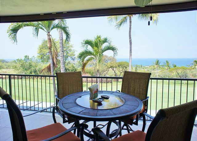 Great Ocean Views From Lanai - Great Ocean and Golf Course Views, Spacious and Recently Renovated! CCV308 - Kailua-Kona - rentals