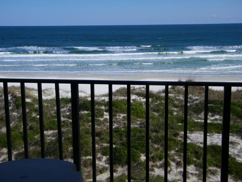 View from Balcony- 180 degree fantastic views - OCEANFRONT-Great Views-Relax, Great for Holidays - Saint Augustine - rentals