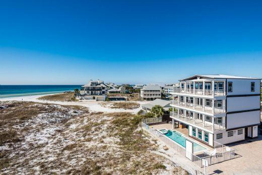 Additional Exterior View - (Grayton Beach) All Decked Out - 64 Hotz - Watercolor - rentals